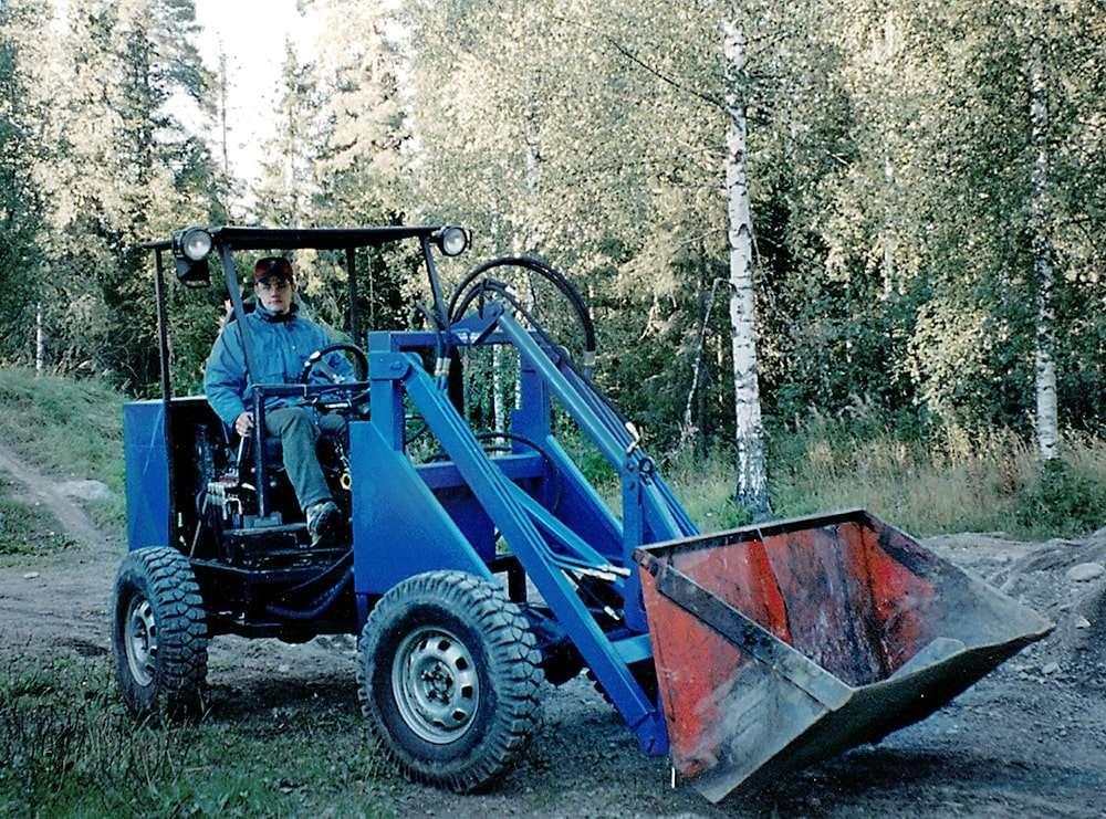 Yrityksen tarina alkoi Matin yksin rakentamasta koneesta.