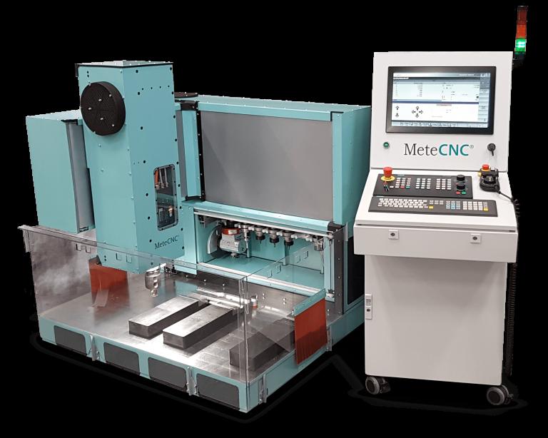 MeteCNC milling machine.
