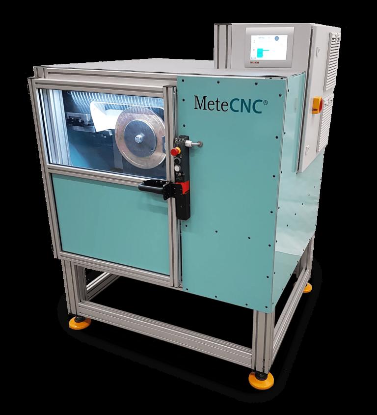 MeteCNC welding disc lathe.