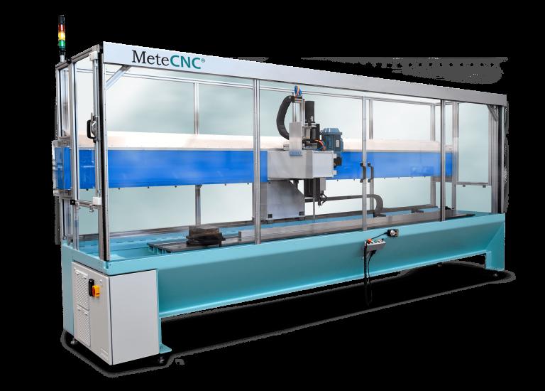 MeteCNC milling center.