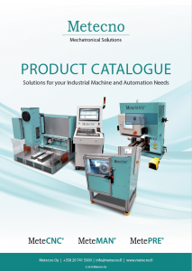 Metecno product catalogue.