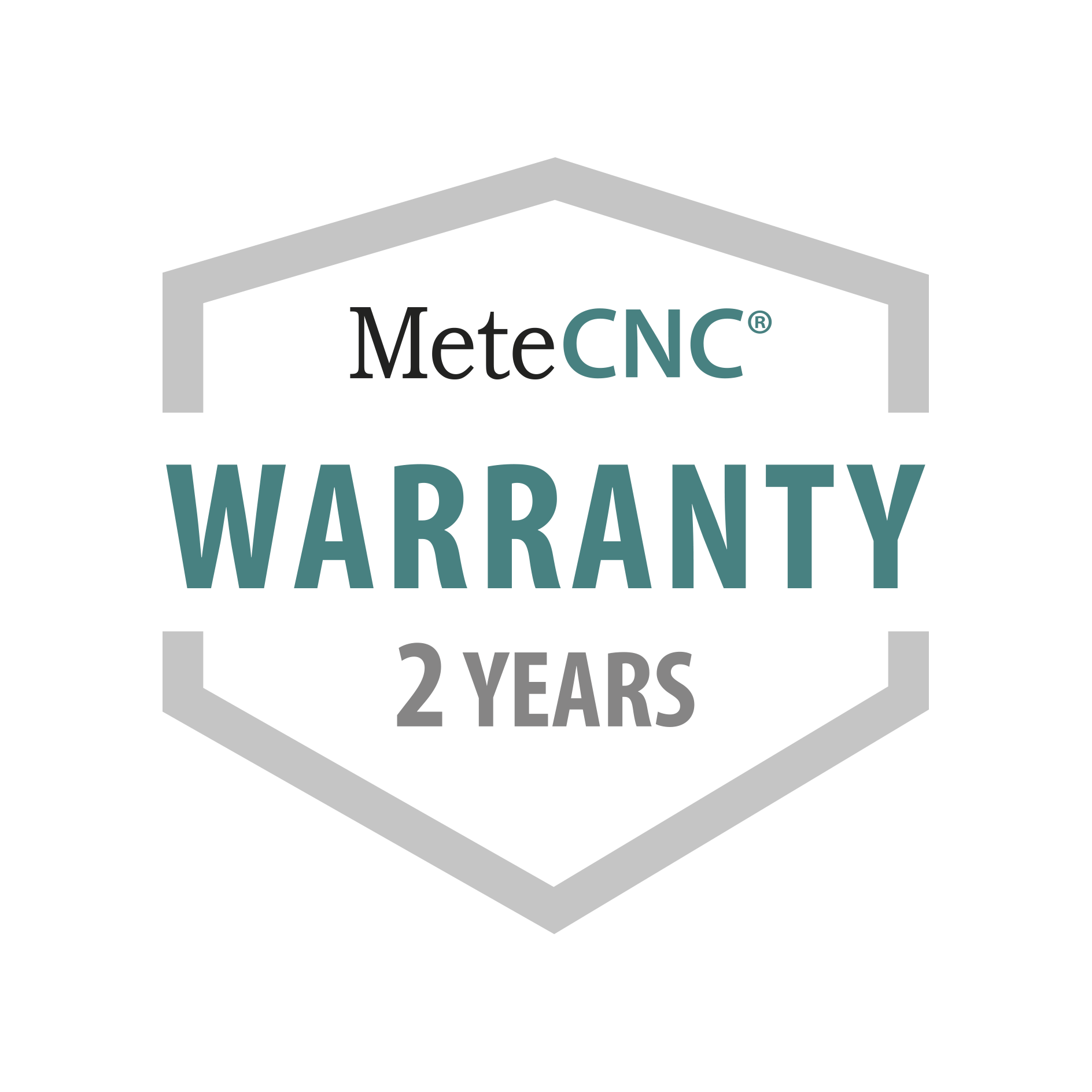 Full warranty for special purpose machines.