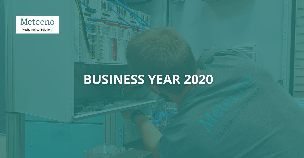 Metecno Oy Business Year 2020.